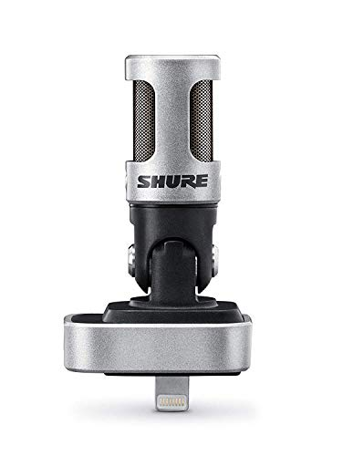 Best Noise-Canceling Microphones Shure MV88 Portable iOS Microphone for iPhone/iPad/iPod via Lightning Connector,...