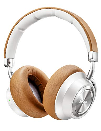 Boltune Noise Cancelling Headphones, [Upgraded] Bluetooth Headphones with Microphone/Deep Bass Wireless...