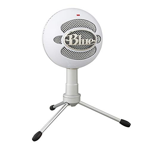 Best Noise-Canceling Microphones Blue Snowball iCE USB Mic for Recording and Streaming on PC and Mac, Cardioid Condenser Capsule,...