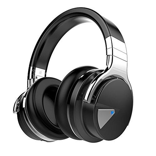 COWIN E7 Active Noise Cancelling Headphones Bluetooth Headphones with Microphone Deep Bass Wireless Headphones...