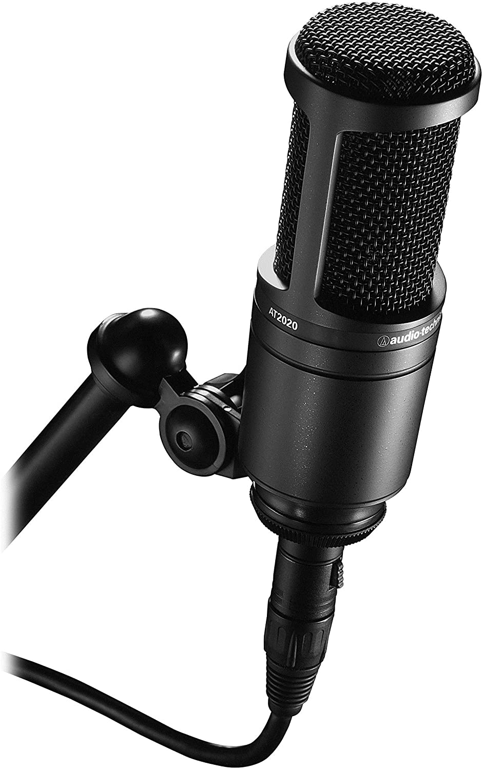 Best Noise-Canceling Microphones  Audio-Technia AT2020 Cardioid Condenser Microphone