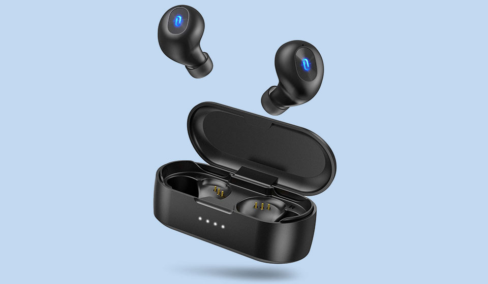 Best Wireless Bluetooth earbuds under $50- TaoTronics SoundLiberty 77