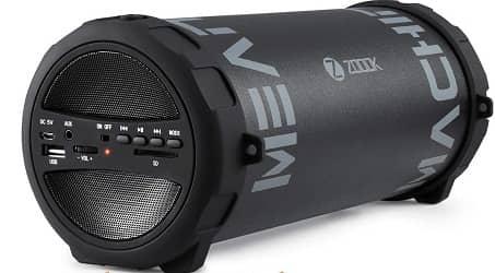 Best Noise-Canceling Microphones Zoook Rocker Mean Machine Bluetooth Party Speaker