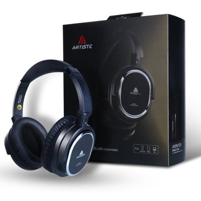 Artiste ANC100 Active Noise Cancelling Headphones