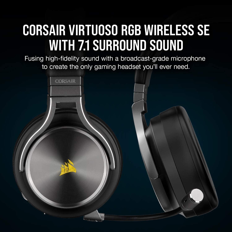 Corsair Virtuoso RGB Wireless SE Headset Review,Corsair Virtuoso RGB Wireless SE Headset, Aumoz | BEST Audio Components 2020