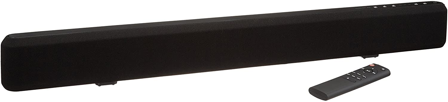 Amazon Basics 2.1 Channel Bluetooth Sound Bar with Built-In Subwoofer