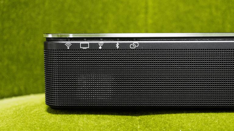 Closeup Soundbar
