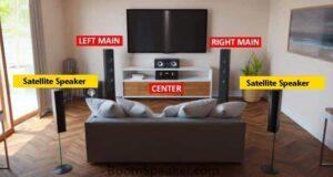 5.1 surround satellite speakers