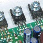 Car Amp blown output Transistors