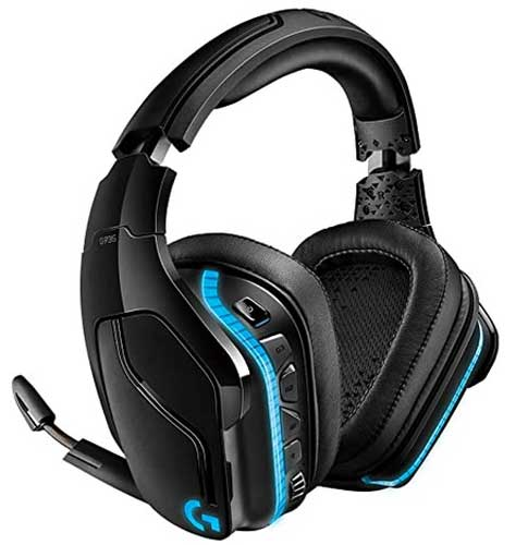 Best Most Expensive Gaming Headset in the World - Logitech G935 Wireless DTS X 7.1 Surround Sound LIGHTSYNC RGB PC Gaming Headset