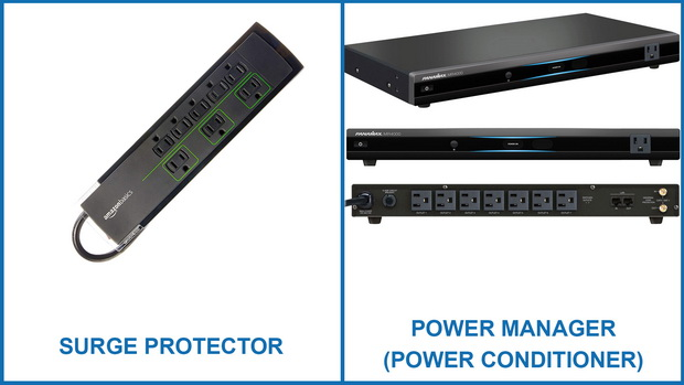 Surge Protector vs Power Manager