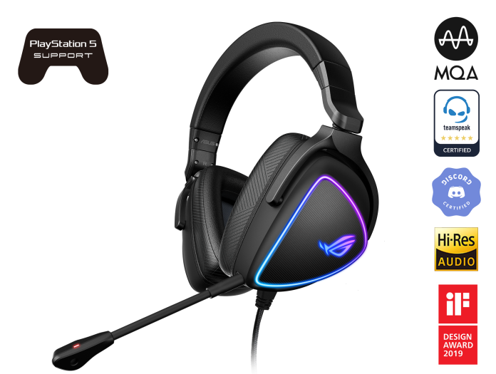 ROG Delta S - Top 10 Gaming Headphone brands in USA